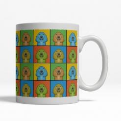 Bloodhound Dog Cartoon Pop-Art Mug - Right View