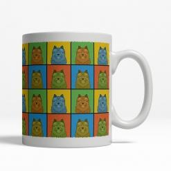 Norwich Terrier Dog Cartoon Pop-Art Mug - Right View