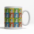 Parson Russell Terrier Dog Cartoon Pop-Art Mug - Right View
