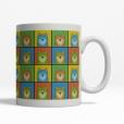 Pomeranian Dog Cartoon Pop-Art Mug - Right View