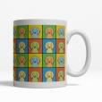 Saluki Dog Cartoon Pop-Art Mug - Right View