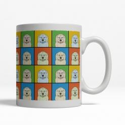 Goldendoodle Dog Cartoon Pop-Art Mug - Right View