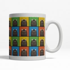 Chantilly-Tiffany Cat Cartoon Pop-Art Mug - Right