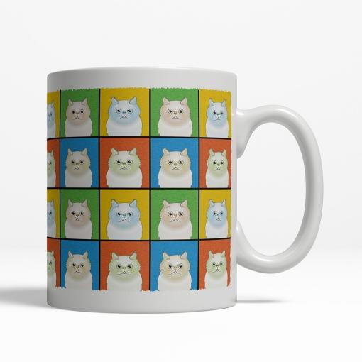 Himalayan Cat Cartoon Pop-Art Mug - Right