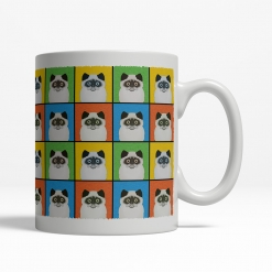 Persian Cat Cartoon Pop-Art Mug - Right
