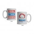 Bernie Sanders Feel The Bern Mug
