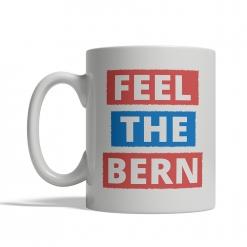 Bernie Sanders Feel The Bern Mug - Front