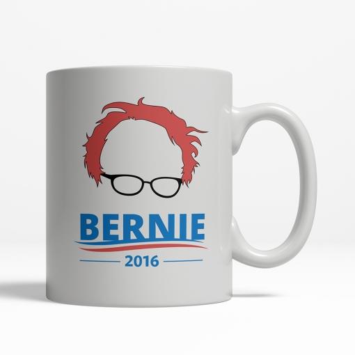 Bernie Sanders Feel The Bern Mug - Back