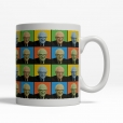 Bernie Sanders Pop-Art Mug Back