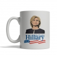 Hillary Clinton Cartoon Mug