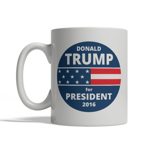 Donald Trump for President Mug - Front