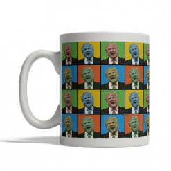 Donald Trump Pop Art Mug - Front