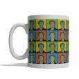 Hillary Clinton Pop Art Mug - Front