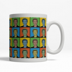Hillary Clinton Pop Art Mug - Back