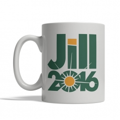 Jill Stein 2016 Mug - Front