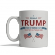 Trump for President Personalized Mug - Front
