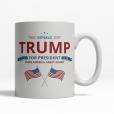 Trump for President  Mug - Back