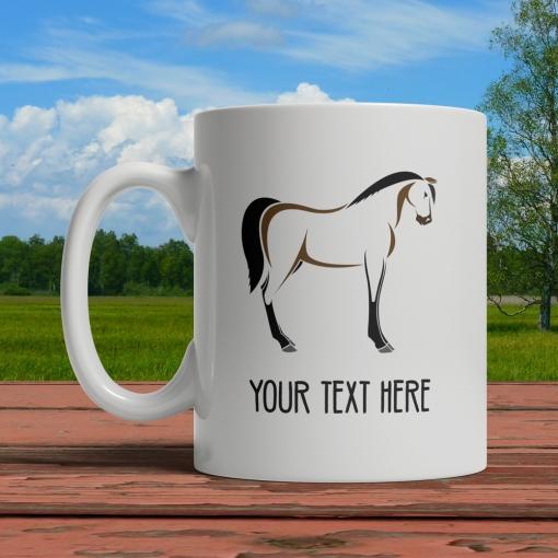 Horse Personalized Mug Front