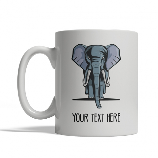 Elephant Personalized Mug