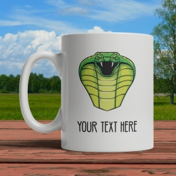 Cobra Personalized Mug Front