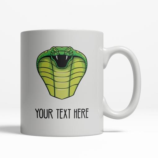 Cobra Personalized Mug Back