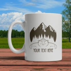 Bear Personalized Mug Front