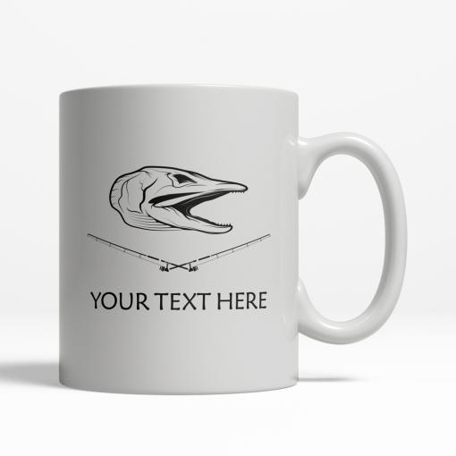 Pike Personalized Mug Back