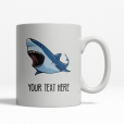 Shark Personalized Mug Back