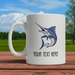 Marlin Personalized Mug Front