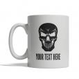 Evil Skull Personalized Mug