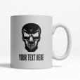 Evil Skull Personalized Mug Front