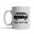 Surfing Van Personalized Mug