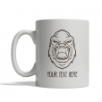 Angry Gorilla Personalized Mug
