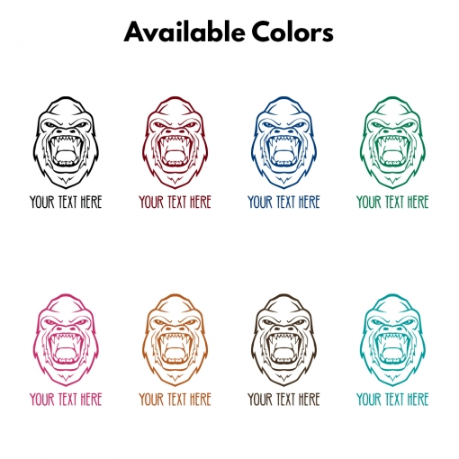 Angry Gorilla Personalized Coffee Cup