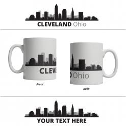 Cleveland Personalized Mug