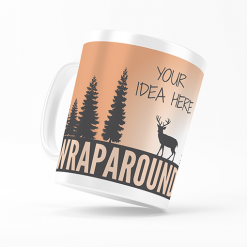 Custom Wraparound Mug - Your Idea Here