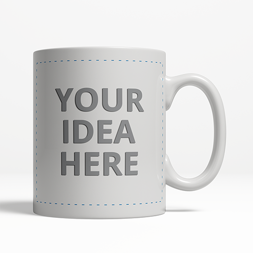 Custom Blank Coffee Mug