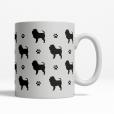 Affenpinscher Silhouette Coffee Cup