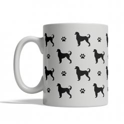 Afghan Hound Silhouettes Mug