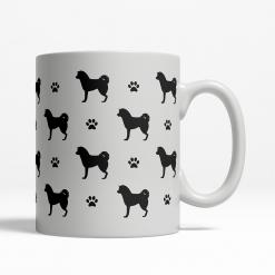 Akita Silhouette Coffee Cup