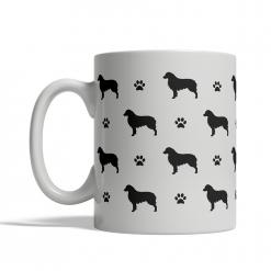 Australian Shepherd Silhouettes Mug