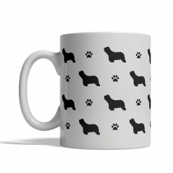 Bearded Collie Silhouettes Mug