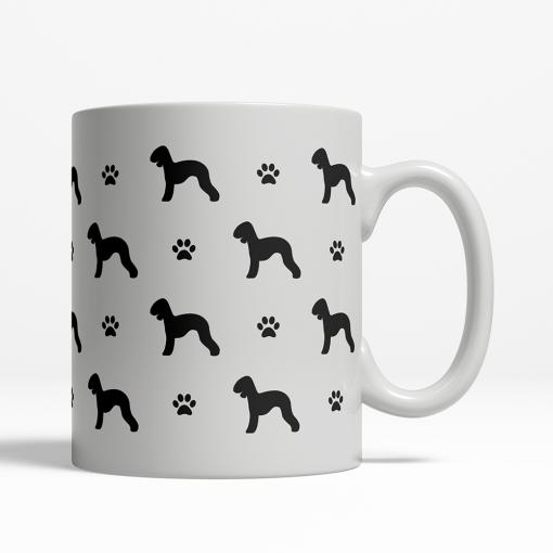 Bedlington Terrier Silhouette Coffee Cup
