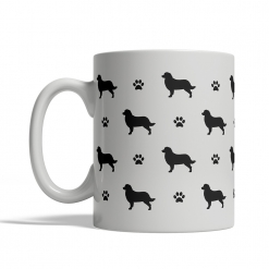 Bernese Mountain Dog Silhouettes Mug