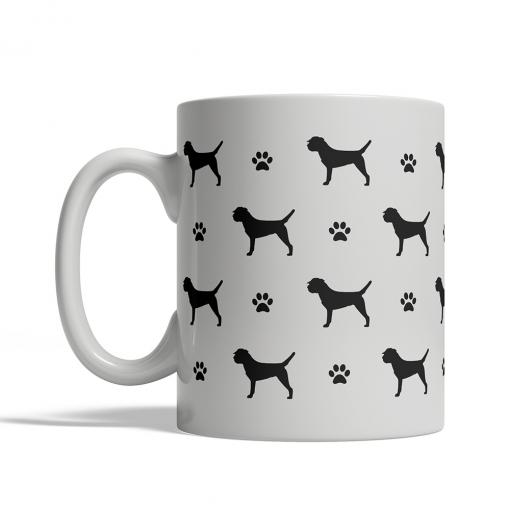 Border Terrier Silhouettes Mug