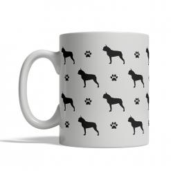 Boston Terrier Silhouettes Mug