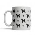 Canaan Dog Silhouettes Mug