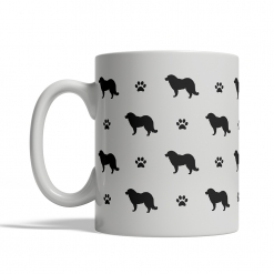Caucasian Shepherd Silhouettes Mug