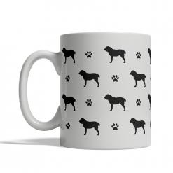 Central Asian Shepherd Silhouettes Mug