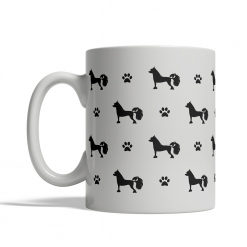 Chinese Crested Dog Silhouettes Mug
